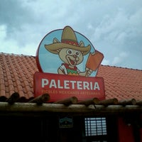 Photo taken at Paleteria by Andre C. on 1/3/2014