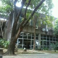 Photo taken at CAC - Centro de Artes e Comunicação by Cris T. on 2/19/2013