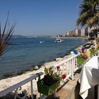 Photo taken at Marina Restaurant Cafe & Bar by Bugra Ç. on 4/30/2013