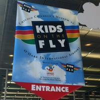 Photo taken at Kids on the Fly, Chicago Children's Museum at O'Hare (ORD) by Ana T. on 4/3/2013