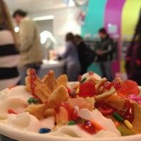 Photo taken at Olo Yogurt Studio by Chris M. on 12/31/2012