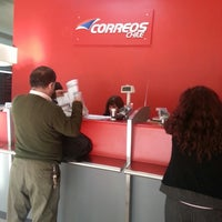 Photo taken at Correos Chile by Evita R. on 5/29/2013