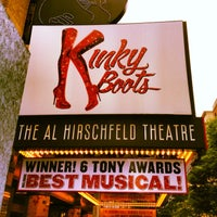 Foto scattata a Kinky Boots at the Al Hirschfeld Theatre da Phillip W. il 7/13/2013