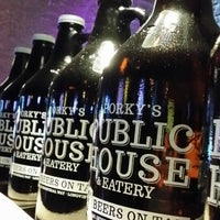 Photo taken at Porky's Public House & Eatery by D J. on 1/4/2014
