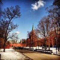 Photo taken at Aleksandrovskiy Garden by Vika S. on 4/8/2013