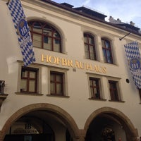 Photo taken at Hofbräuhaus by Daniel S. on 10/20/2013