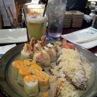 Photo taken at Miyako Japanese Steak & Seafood by Erin on 3/16/2013