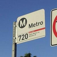 Photo taken at metro 720 bus stop by Jazz F. on 2/22/2013