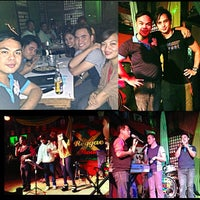 Photo taken at Reggae Moon Bar and Resto by Francis B. on 8/12/2013