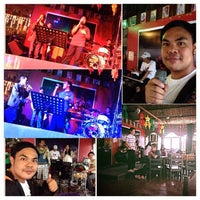 Photo taken at Reggae Moon Bar and Resto by Francis B. on 12/23/2013