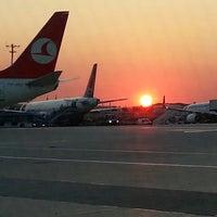 Photo taken at Istanbul Atatürk Airport (IST) by Murat K. on 7/24/2013