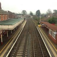 Photo taken at Oakham Railway Station (OKM) by Jehovah S. on 1/31/2014