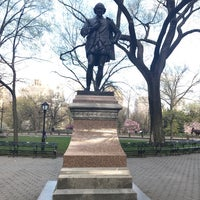 Photo taken at William Shakespeare Statue by Yvette W. on 4/29/2018