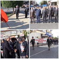 Photo taken at Akhisar Milli Egemenlik Meydanı by Akhisar B. on 9/19/2013
