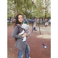 Photo taken at детская площадка у почты by Anna S. on 9/23/2014