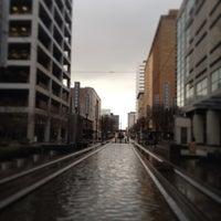Photo taken at METRORail Main Street Square (Northbound) Station by Pedro V. on 2/5/2013