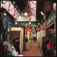 Photo taken at George's Street Arcade Market by Pedro V. on 3/24/2013