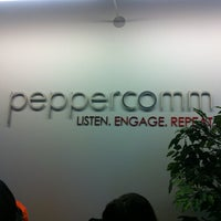 Photo taken at Peppercomm by Caslon C. on 1/28/2013