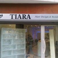 Photo taken at Tiara Hair Design & Beauty by Mustafa D. on 5/31/2013