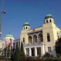 Photo taken at Mohács Városháza by Igor B. on 11/3/2014