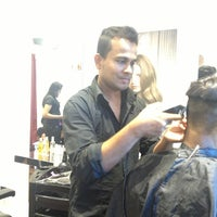 Photo taken at Salon Jharn by Angel F. on 9/13/2013