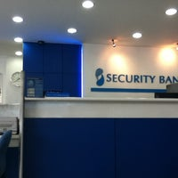 Photo taken at Security Bank by Trice D. on 2/26/2013