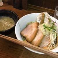 8/5/2017にtakeoが貝だしラーメン 貝ガラ屋で撮った写真