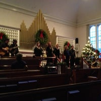 Photo taken at Greenland UCC Church by Heidi D. on 12/16/2012