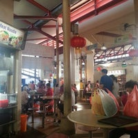Photo taken at Yuhua Village Market & Food Centre by WeiJie on 2/2/2013