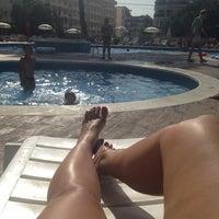 Photo taken at Pool Mediterraneo by Nastya B. on 6/20/2014