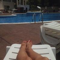 Photo taken at Pool Mediterraneo by Nastya B. on 6/17/2014
