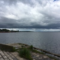 Photo taken at Ostashkov Pier by Anna S. on 7/21/2016