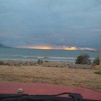 Photo taken at Explanada Playa Municipal by J. Ricardo C. on 2/7/2014