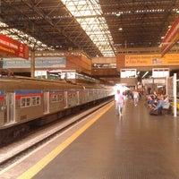 Photo taken at Estação Palmeiras-Barra Funda (CPTM) by [Beta] Marcelo G. on 2/9/2013