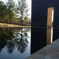 Photo taken at Oklahoma City National Memorial & Museum by Brooke T. on 3/16/2013
