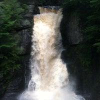 Photo taken at Bushkill Falls by Christine S. on 6/16/2013