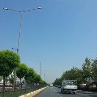 Photo taken at İzmir Bulvarı by Huriye O. on 6/28/2013