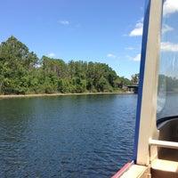 Photo taken at Friendship Boat Dock - Disney's Hollywood Studios by Rachel F. on 4/6/2013