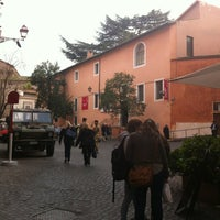 Photo taken at Da Otello in Trastevere by Marise A. on 4/4/2013