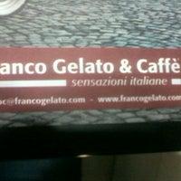 Photo taken at Franco Gelato & caffè by Amal S. on 5/9/2013