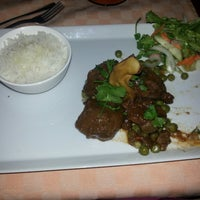 Photo taken at Xerém Fusion Cuisine by Nelson P. on 10/21/2013