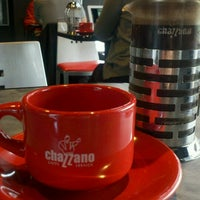 Photo taken at Chazzano Coffee Roasters by David L. on 12/11/2012