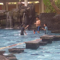 Photo taken at Melia Purosani Swimming Pool by Adit Via Nanda m. on 8/12/2013