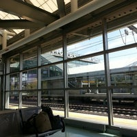 Photo taken at Newark Liberty Airport Station (Amtrak/NJT) by Aldous Noah on 9/19/2014