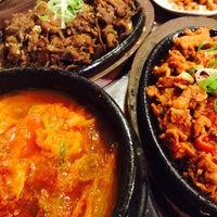 Photo taken at Red Pig Korean Restaurant (빨간돼지 한국식당) by Eithanda H. on 11/4/2014