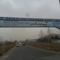 Photo taken at Havaalanı Organize Sanayi Bölgesi by Mehmet can M. on 1/22/2018