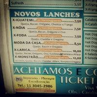 Photo taken at Dog & Sauce Dinho by Vitor G. on 2/4/2014