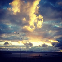 Photo taken at Northcote Point by Ramy E. on 10/29/2013