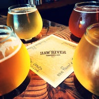 Photo taken at Haw River Farmhouse Ales by Dave R. on 6/24/2018