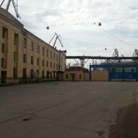 Photo taken at Baltic Shipyard by Александр П. on 5/12/2013